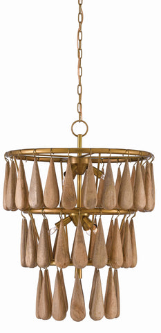 Savoiardi Chandelier design by Currey & Company