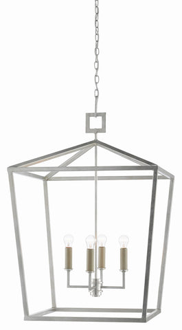 Denison Silver Lantern in Various Sizes