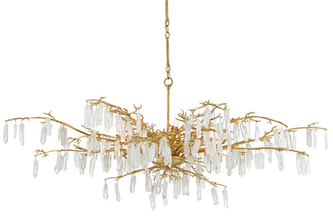 Forest Dawn Chandelier by Currey & Company