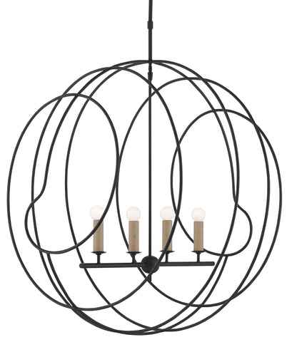 Auden Orb Chandelier by Currey & Company
