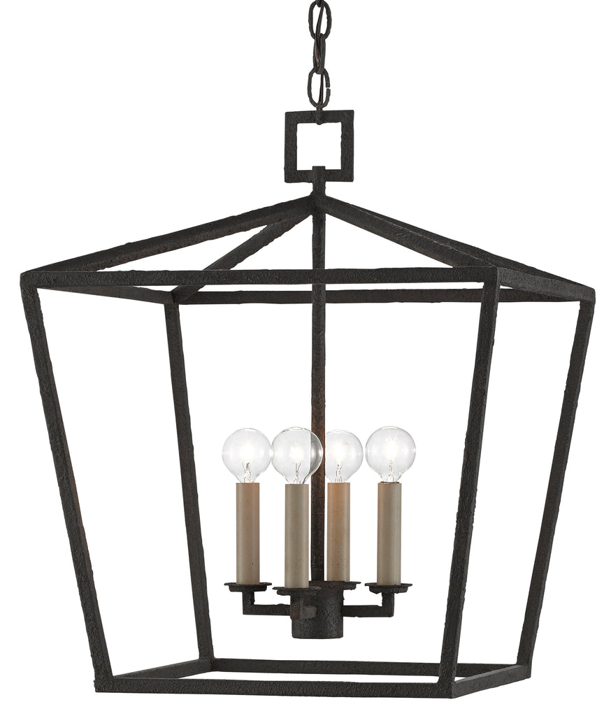 Denison Lantern in Various Finishes & Sizes by Currey & Company
