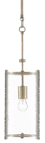 Chase Silver Pendant by Currey & Company