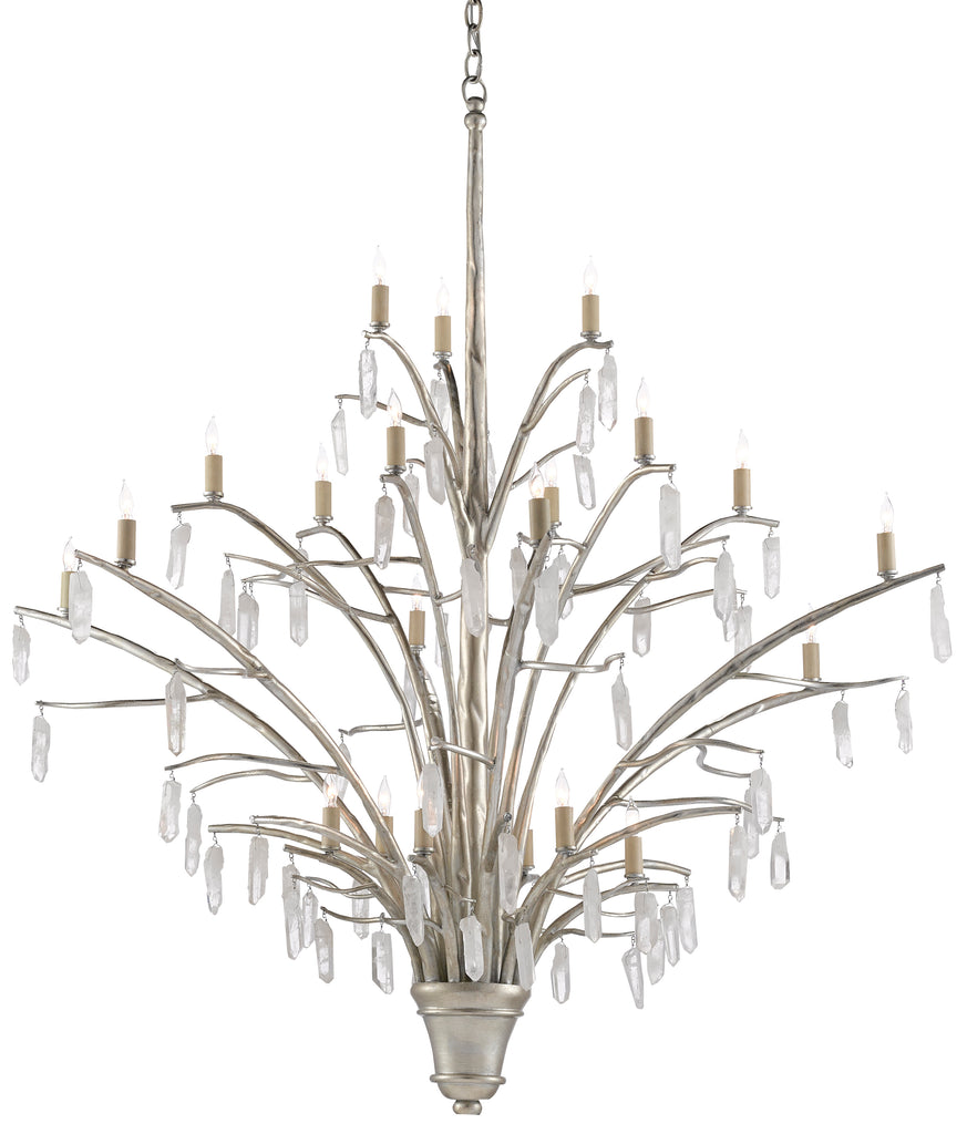 Raux Chandelier by Currey & Company