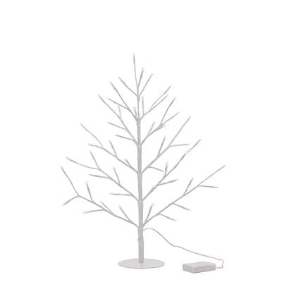 "Whimsical Tree 48 LED 23"" Illuminated Decor in White"