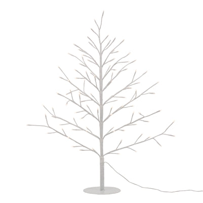 "Whimsical Tree 96 LED 32"" Illuminated Decor in White"