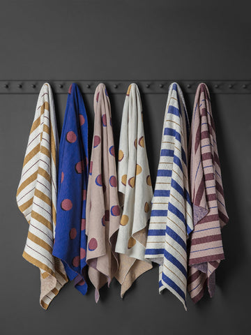 Pinstripe Blanket in Various Colors by Ferm Living