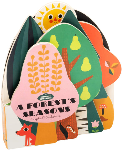 Bookscape Board Books: A Forest's Seasons  Illustrations by Ingela P. Arrhenius