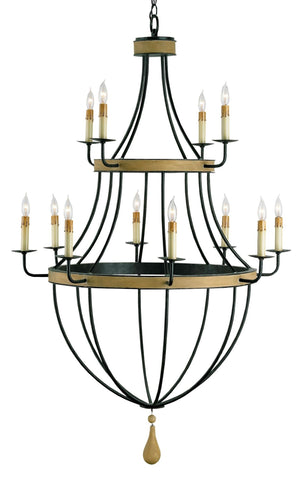 Blythwood Chandelier design by Currey & Company