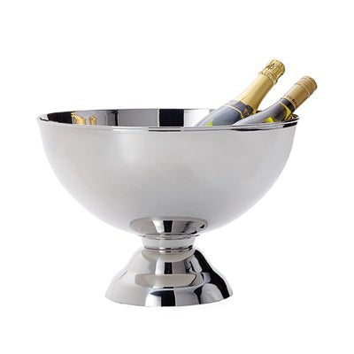Landon Stainless Steel Punch Bowl Wine Chiller in Large design by Torre & Tagus