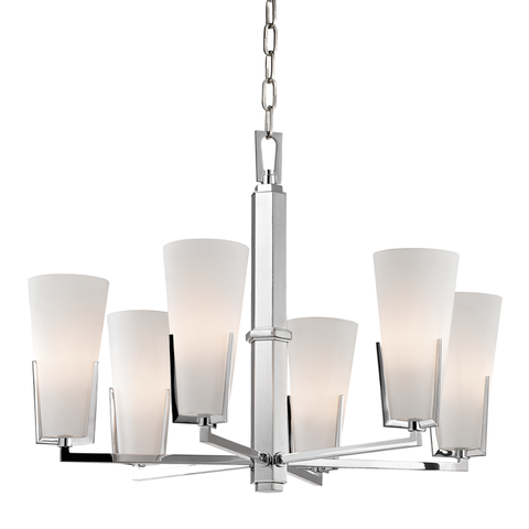 Upton 6 Light Chandelier by Hudson Valley Lighting