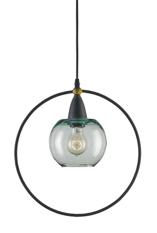 Moorsgate Pendant design by Currey & Company