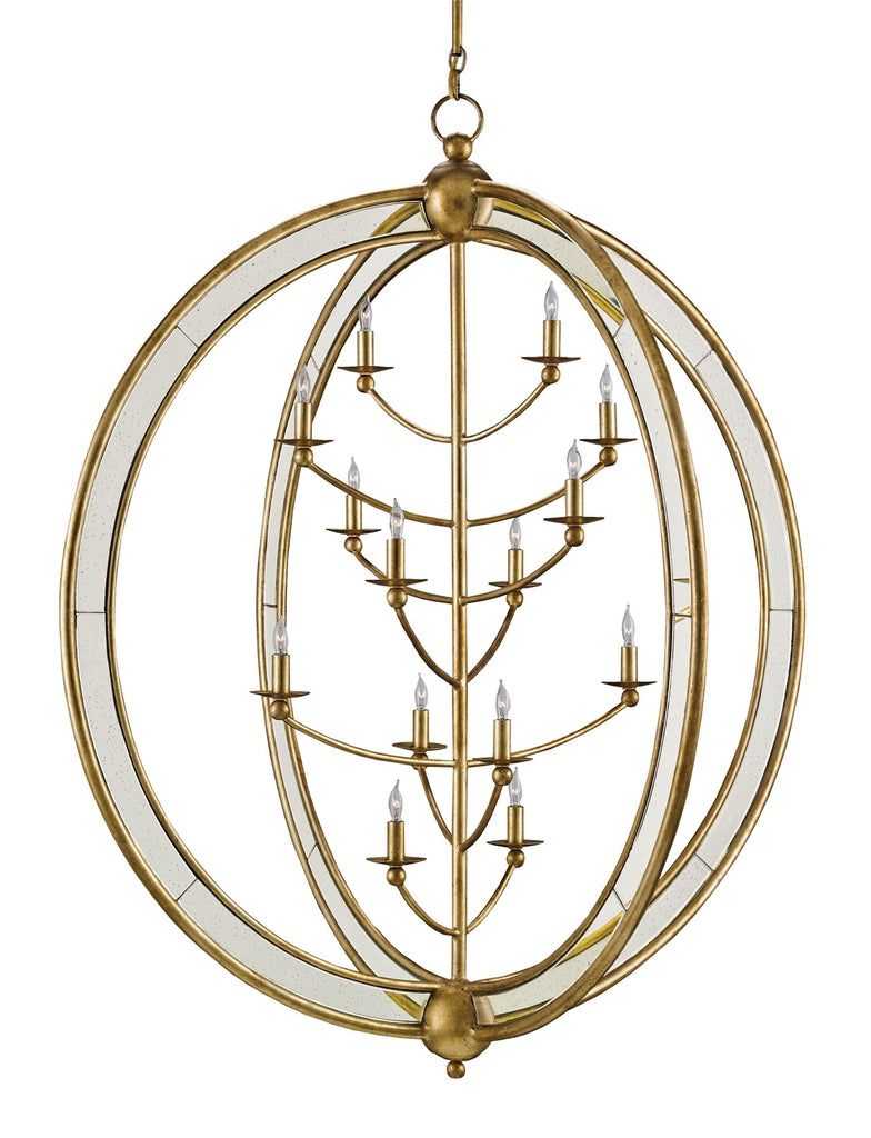 Large Aphrodite Chandelier design by Currey & Company