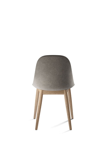 Harbour Upholstered Dining Height Side Chair w/ Natural Oak Legs in Various Colors