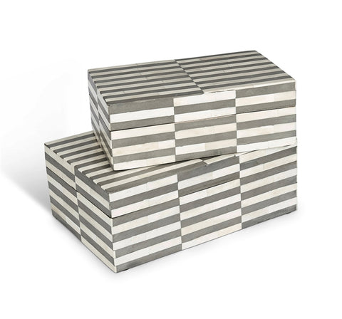 Felicity Bone Boxes Design By Interlude Home