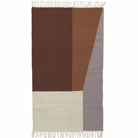 Kelim Rug in Borders design by Ferm Living