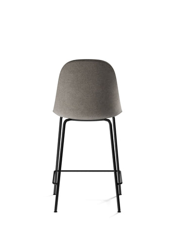 Harbour Upholstered Counter Height Side Chair w/ Steel Black Legs in Various Colors