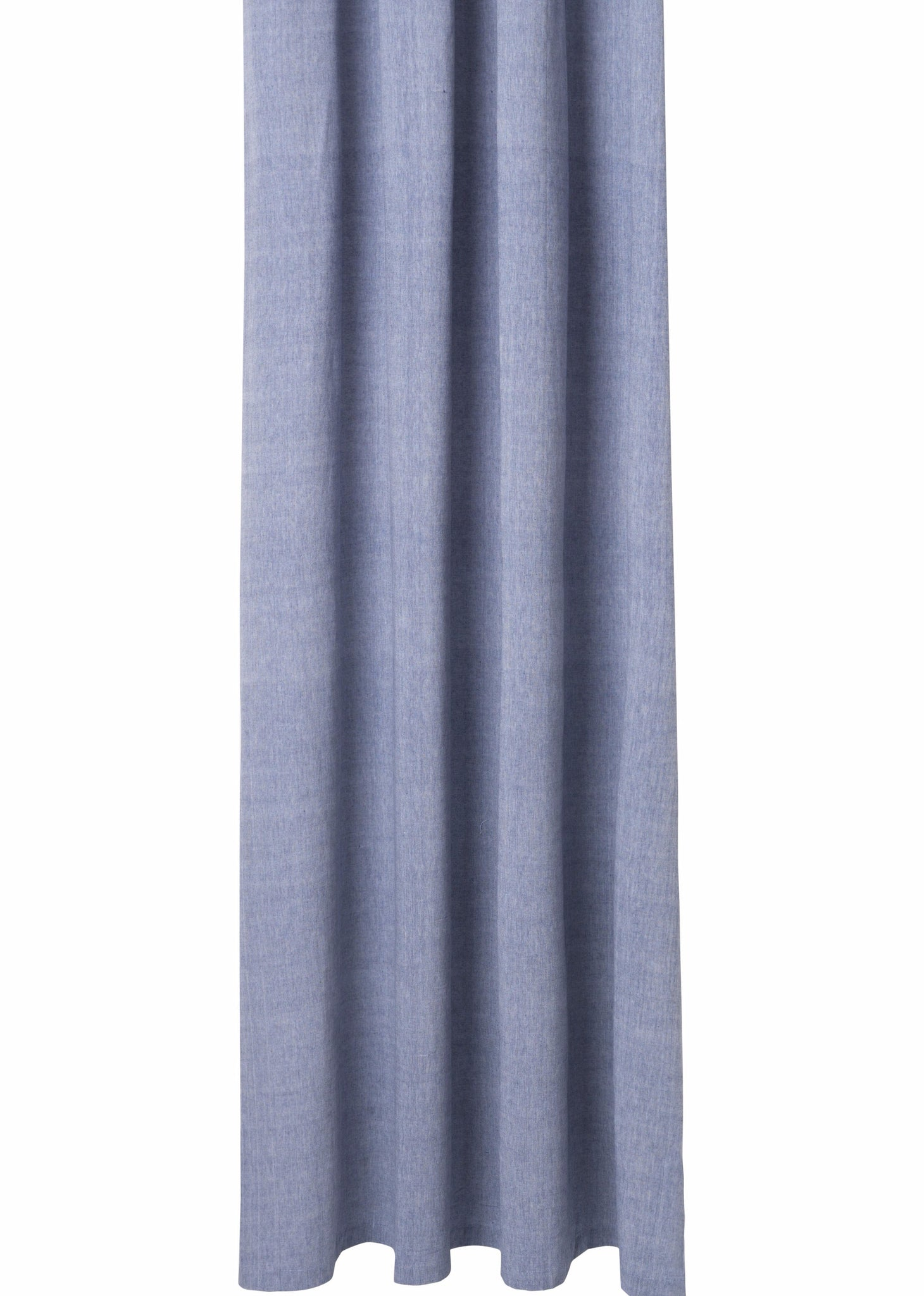 Chambray Shower Curtain in Blue design by Ferm Living – BURKE DECOR