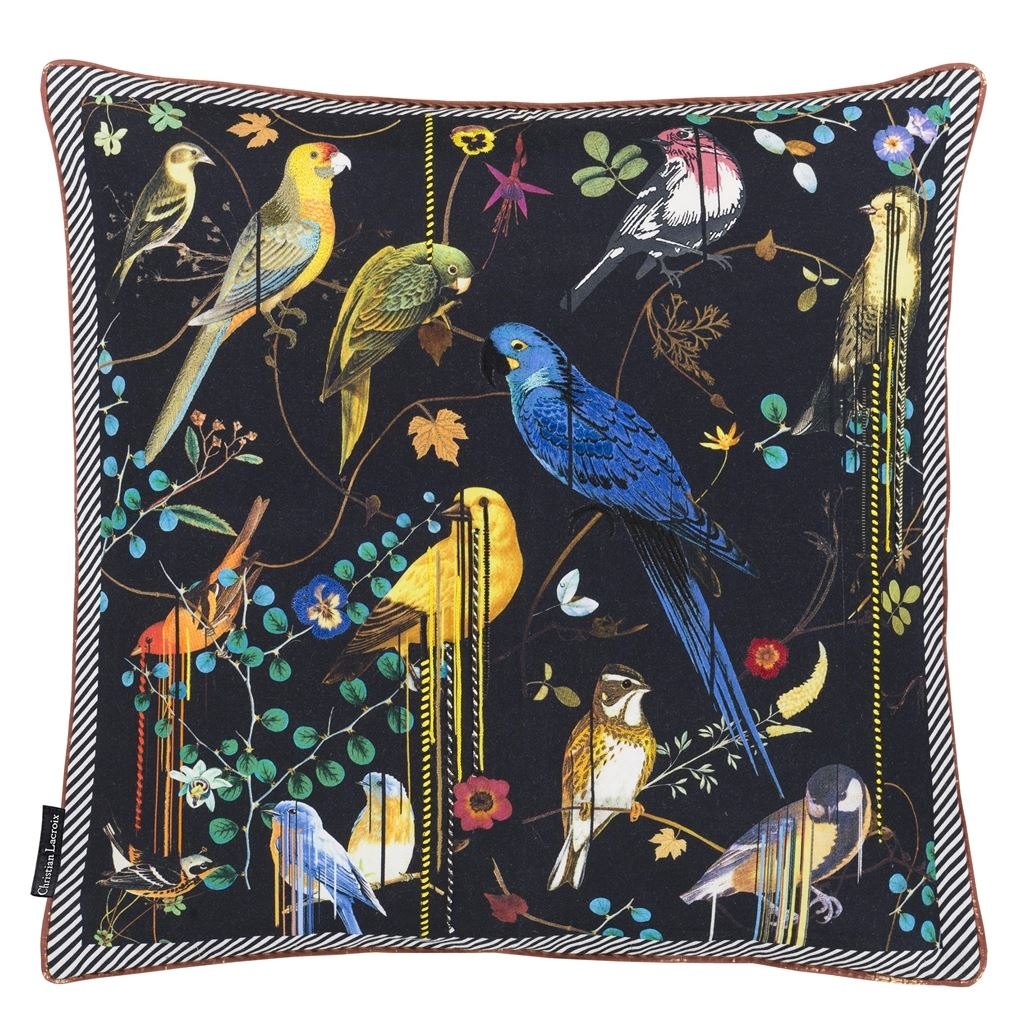 Christian Lacroix Birds Sinfonia Crepuscule Cushion design by Designers Guild