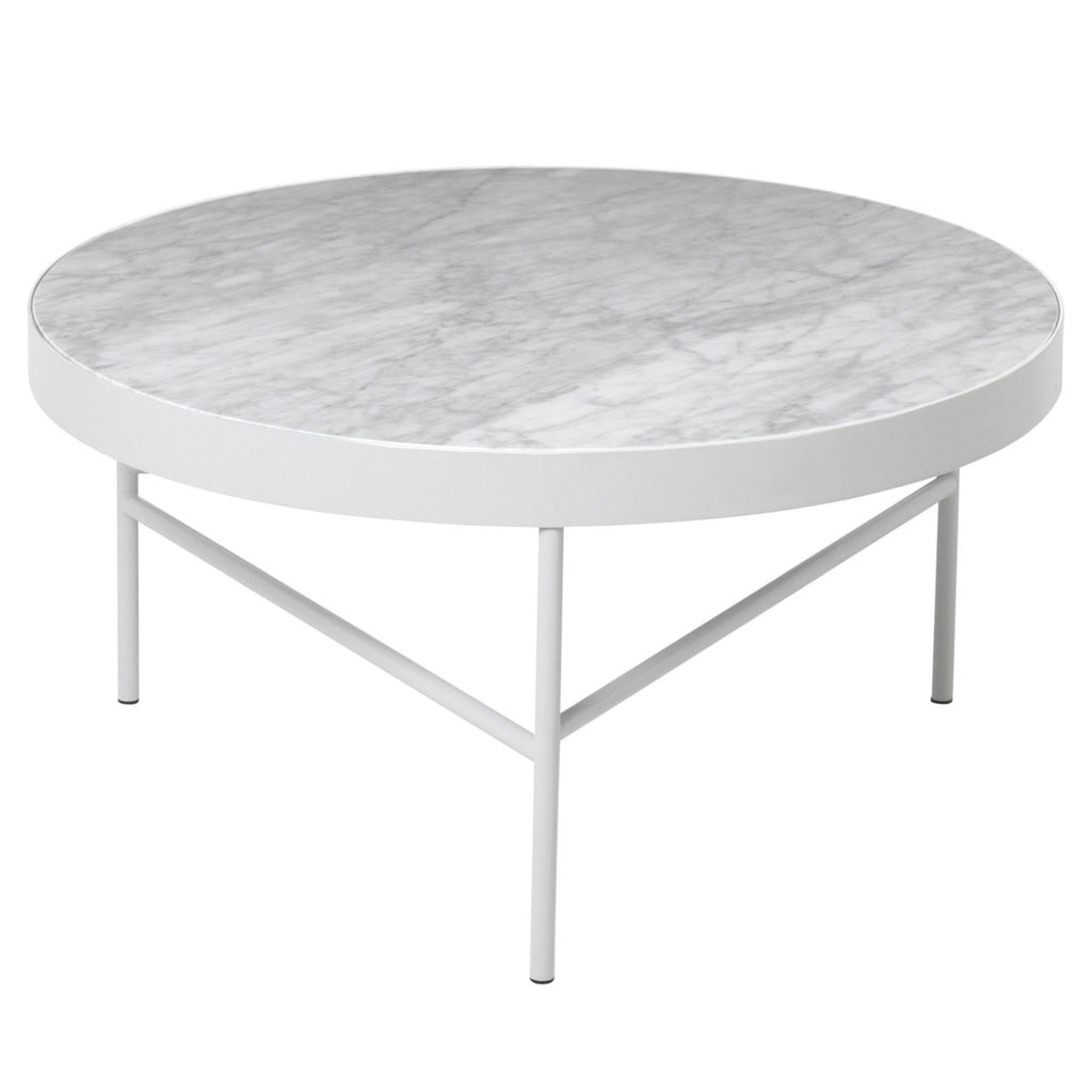 Large Marble Table in White by Ferm Living