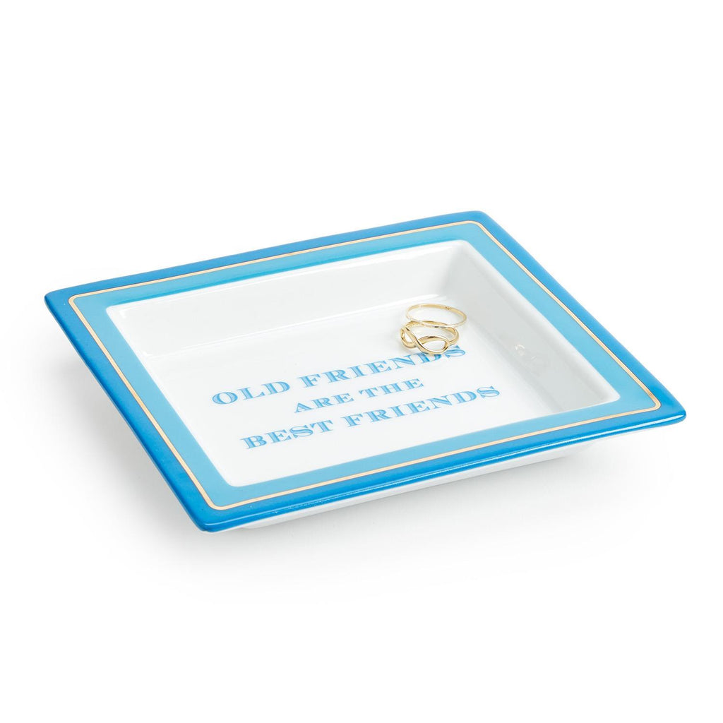 "Wise Sayings ""Old Friends are the Best Friends"" Desk Tray in Gift Box"