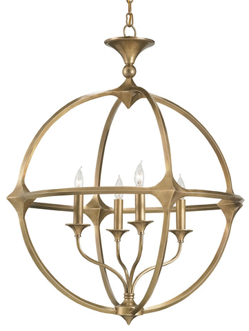 Bellario Orb Chandelier design by Currey & Company