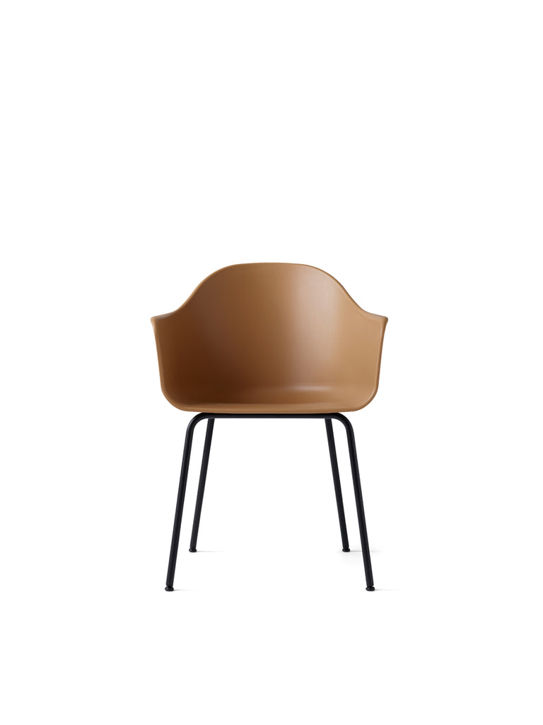 Harbour Chair, Steel Legs + Plastic Shell in Assorted Colors by Menu