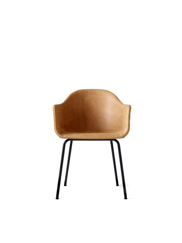 Harbour Chair, Steel Legs + Upholstered Shell in Assorted Colors by Menu