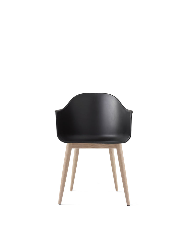 Harbour Chair, Wood Legs + Plastic Shell in Assorted Colors by Menu