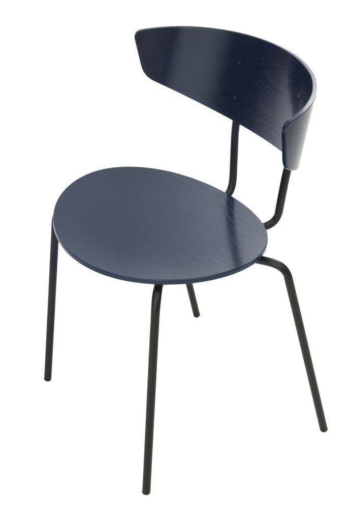 Herman Chair in Dark Blue by Ferm Living