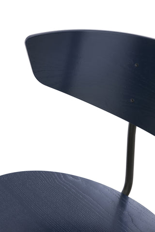 Herman Chair in Dark Blue design by Ferm Living
