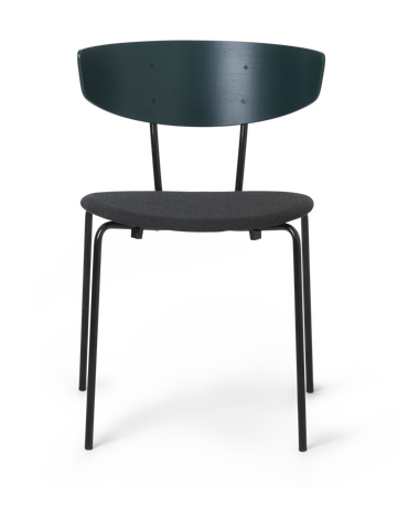 Herman Chair Upholstered in Dark Green by Ferm Living