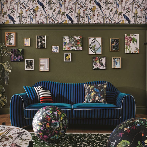 Christian Lacroix Throw Pillow Birds Sinfonia Crepuscule Cushion Design By Designers Guild