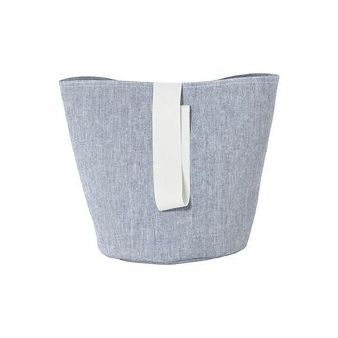 Small Chambray Basket in Blue by Ferm Living
