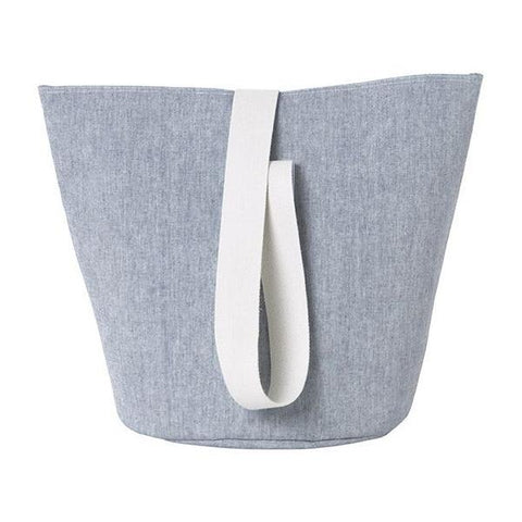 Medium Chambray Basket in Blue by Ferm Living