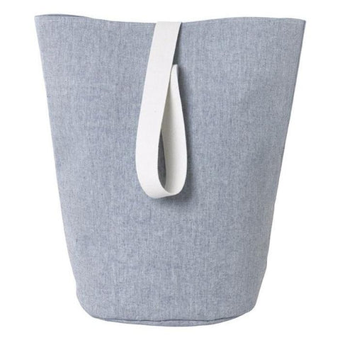 Large Chambray Basket in Blue by Ferm Living