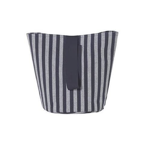 Small Chambray Basket in Striped design by Ferm Living