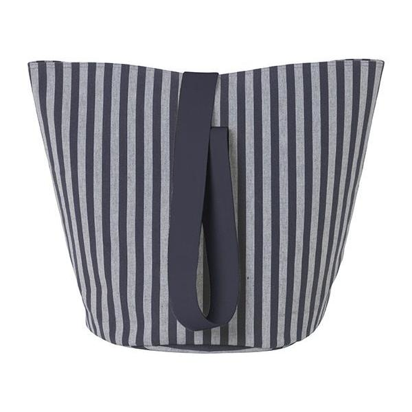 Medium Chambray Basket in Striped design by Ferm Living