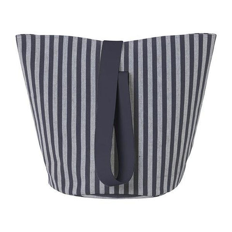 Medium Chambray Basket in Striped by Ferm Living