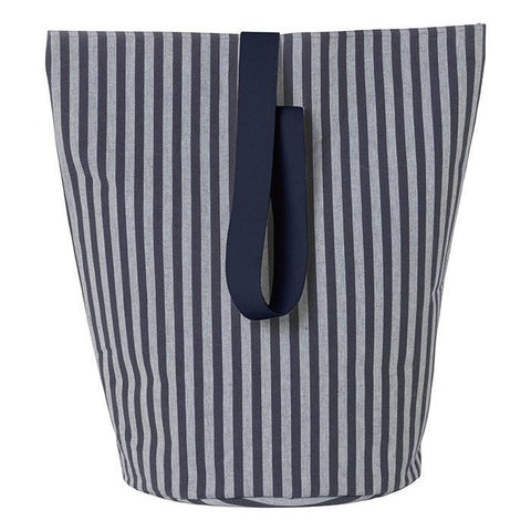 Large Chambray Basket in Striped by Ferm Living