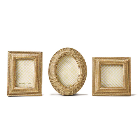 Tuileries Golden Dots Photo Frames