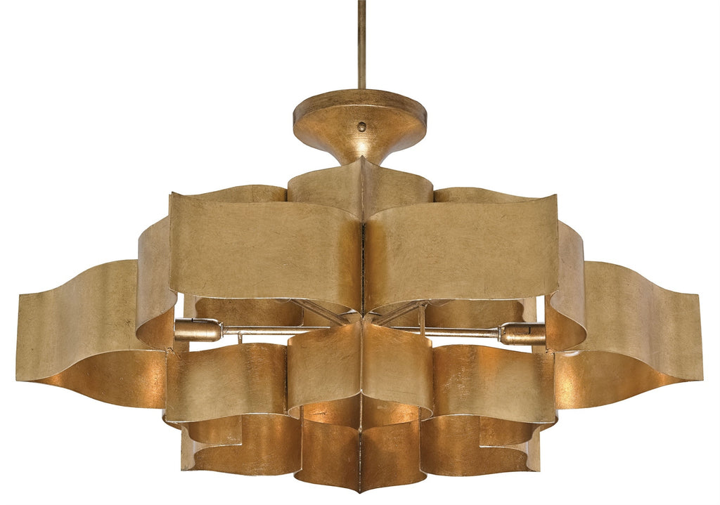 Grand Lotus Chandelier design by Currey & Company