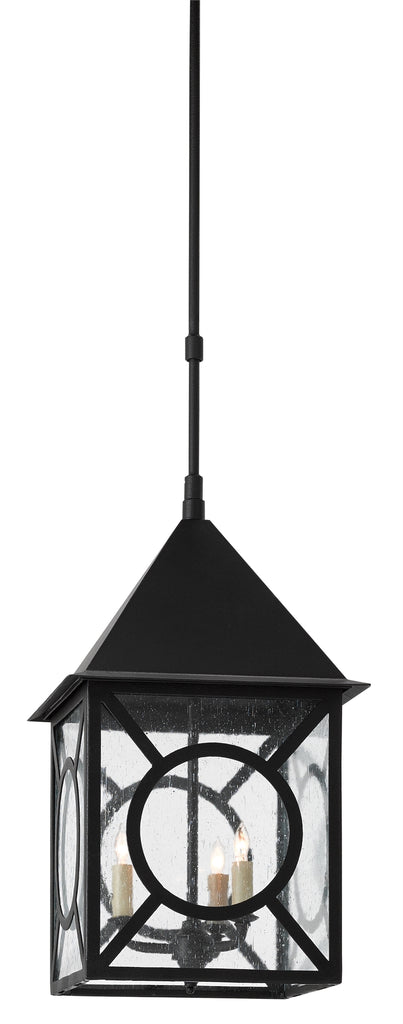 Ripley Outdoor Lantern in Various Sizes design by Currey & Company