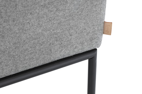 Turn Sofa in Wool Grey by Ferm Living
