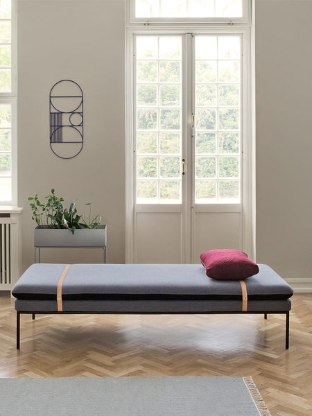 Turn Wool Daybed in Grey design by Ferm Living