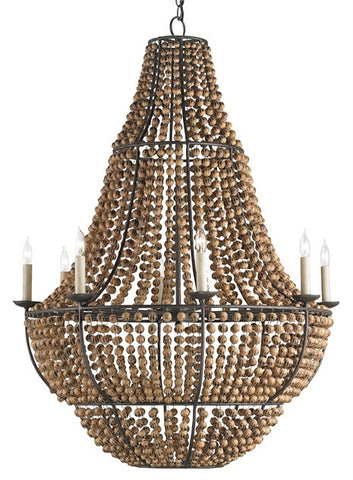 Falconwood Chandelier design by Currey & Company