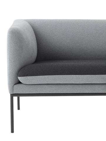 Turn Sofa in Cotton Grey by Ferm Living