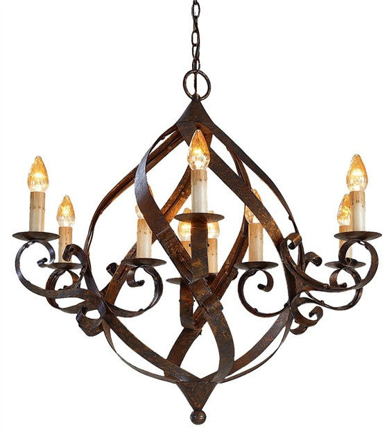 Gramercy Chandelier design by Currey & Company