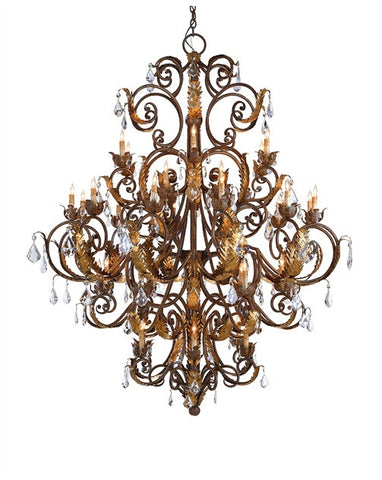 Innsbruck Chandelier design by Currey & Company