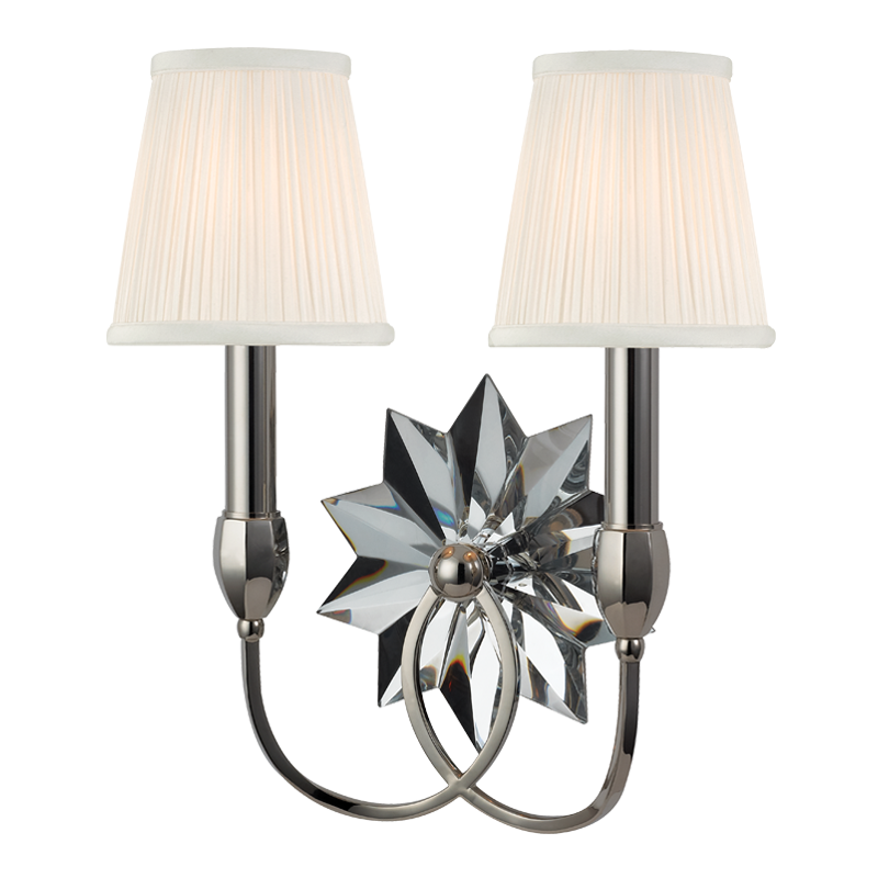 Barton 2 Light Wall Sconce by Hudson Valley Lighting
