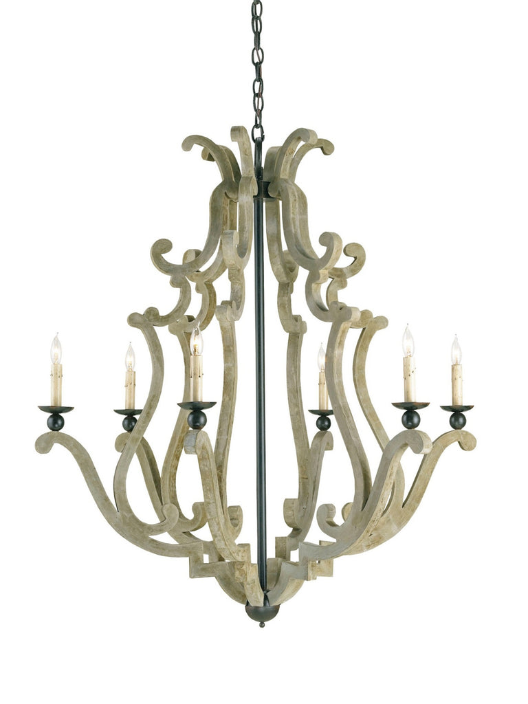 Durand Chandelier design by Currey & Company